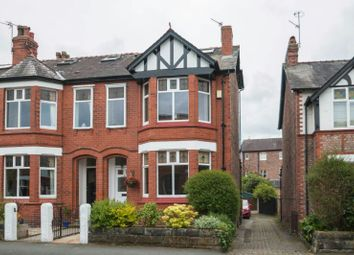 Thumbnail 4 bed end terrace house for sale in Leigh Road, Hale, Altrincham