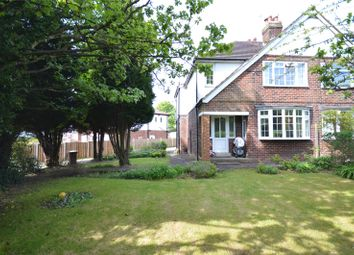 Thumbnail 3 bed semi-detached house for sale in The Avenue, Alwoodley, Leeds, West Yorkshire