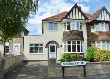 Thumbnail 3 bed semi-detached house for sale in Wyndhurst Road, Birmingham