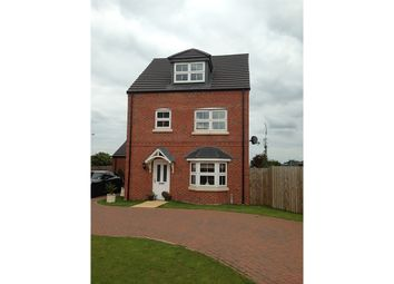 Thumbnail 4 bed detached house to rent in Fusilier Way, Kirton Lindsey, Gainsborough