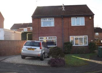 Thumbnail 2 bed semi-detached house to rent in Long Dale, Forest Town, Mansfield