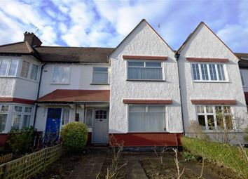Thumbnail 3 bed terraced house for sale in Claigmar Gardens, Finchley, London