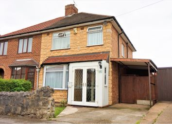 Thumbnail 3 bed semi-detached house for sale in Wilson Road, Derby