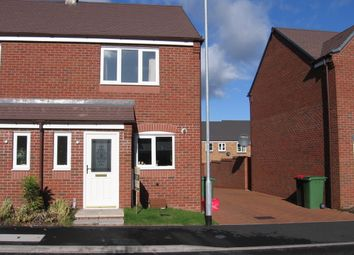Thumbnail 2 bedroom semi-detached house to rent in Riven Road, Hadley, Telford