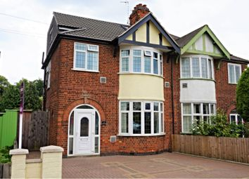 Thumbnail 4 bed semi-detached house for sale in Henley Road, Leicester