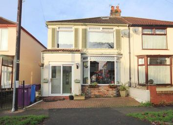 Thumbnail 3 bed semi-detached house for sale in Stratford Road, Garston, Liverpool