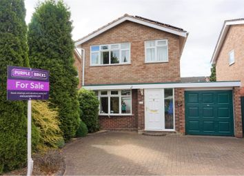 Thumbnail 3 bed detached house for sale in Winchester Close, Lichfield
