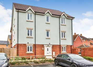 Thumbnail 3 bed town house for sale in Woodpecker Way, Queens Hills, Norwich