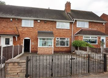 Thumbnail 3 bed terraced house for sale in Longmeadow Crescent, Birmingham