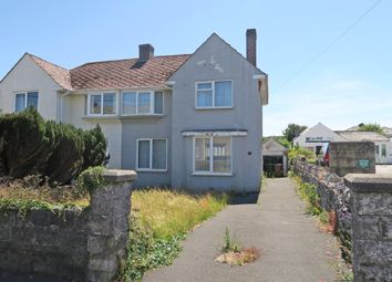 Thumbnail 3 bed semi-detached house for sale in Plymstock Road, Plymstock, Plymouth, Devon