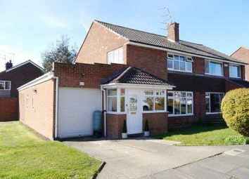 Thumbnail 3 bed semi-detached house for sale in Ladywell Way, Ponteland, Newcastle Upon Tyne