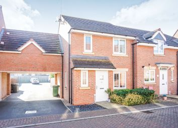 Thumbnail 3 bed terraced house for sale in Skye Close, Peterborough