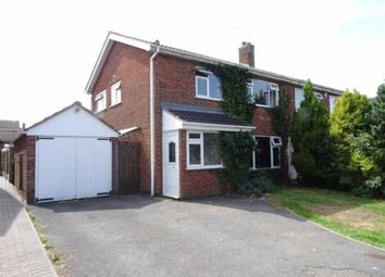 Thumbnail 3 bed semi-detached house for sale in Roston Drive, Hinckley