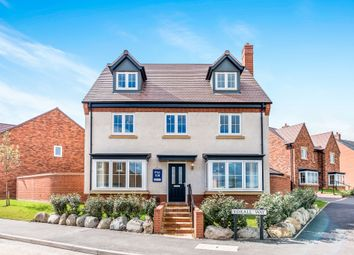Thumbnail 5 bed detached house for sale in Burton Road, Streethay, Lichfield