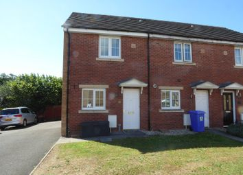 Thumbnail 2 bedroom end terrace house for sale in Clos Y Cudyll Coch, Broadlands, Bridgend.