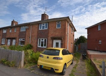 Thumbnail 3 bed end terrace house for sale in Wellbrook Avenue, Sileby, Loughborough