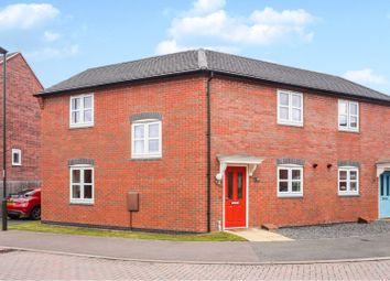 Thumbnail 3 bed semi-detached house for sale in Lewisham Drive, Church Gresley, Swadlincote