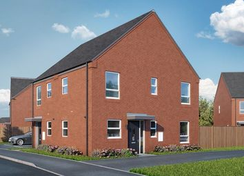 Thumbnail 2 bed property for sale in The Cedar (2-Bed), Court Street, Swadlincote, Woodvill, Derbyshire