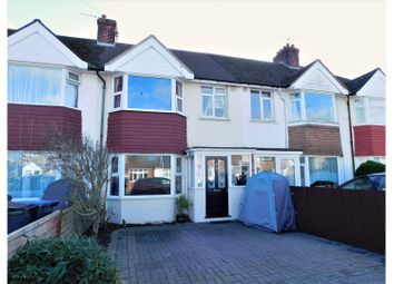 Thumbnail 3 bed terraced house for sale in Clarendon Road, Worthing