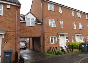 Thumbnail 4 bedroom end terrace house for sale in Jubilee Gardens, Erdington