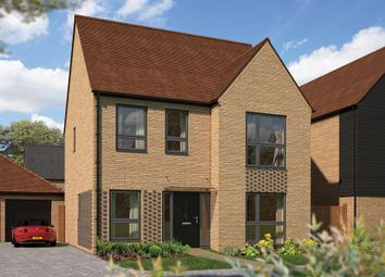 """Thumbnail 4 bed detached house for sale in """"The Aspen"""" at Woodpecker Close, Northstowe, Cambridge"""