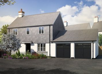 "Thumbnail 3 bed link-detached house for sale in ""The Farringdon"" at Haye Road, Sherford, Plymouth"