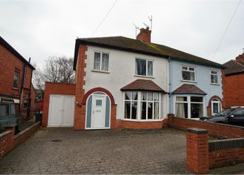 Thumbnail 3 bed semi-detached house for sale in Greetwell Road, Lincoln