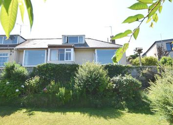 Thumbnail 3 bed semi-detached bungalow for sale in Trevalga Close, Perranporth