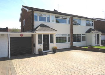 Thumbnail 3 bed semi-detached house for sale in Meadway, Hoddesdon