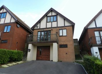 Thumbnail 4 bed detached house to rent in The Woodlands, Brackla, Bridgend