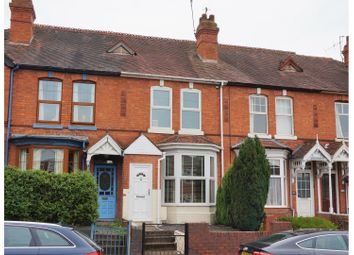 Thumbnail 3 bed terraced house for sale in Lansdowne Road, Worcester