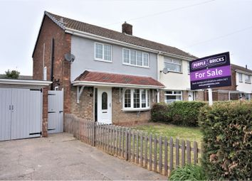 Thumbnail 3 bed semi-detached house for sale in Mayflower Close, South Killingholme