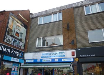 Thumbnail 3 bed maisonette for sale in Bearwood Road, Bearwood, Smethwick