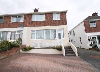 Thumbnail 3 bed semi-detached house for sale in Crossway, Plympton, Plymouth