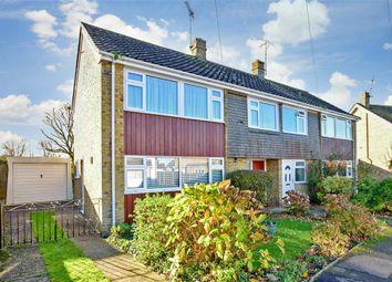 Thumbnail 3 bed semi-detached house for sale in Waterside, Willesborough, Ashford, Kent