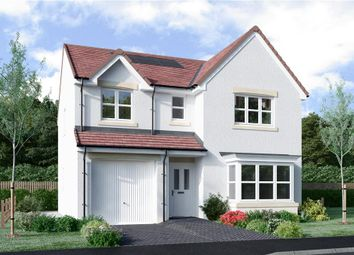 "Thumbnail 4 bed detached house for sale in ""Fletcher"" at Borthwick Castle Road, North Middleton, Gorebridge"