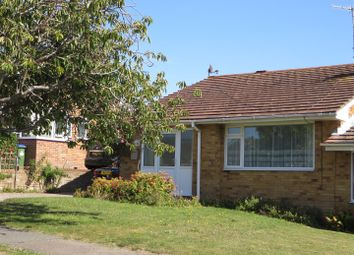 Thumbnail 2 bed semi-detached bungalow for sale in Lexden Road, Seaford