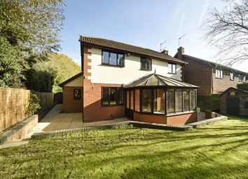 Thumbnail 4 bed detached house to rent in Hunters Way, Spencers Wood, Reading
