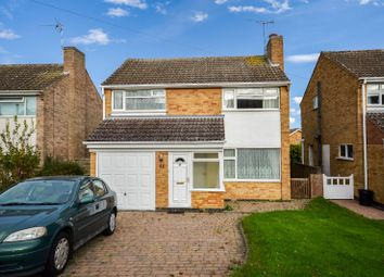 Thumbnail 3 bed detached house for sale in Oxted Rise, Oadby, Leicester