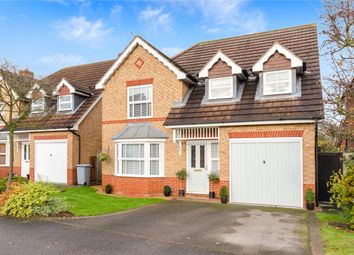 Thumbnail 4 bed detached house for sale in Lilburne Close, Newark