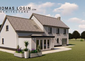 Thumbnail 4 bed detached house for sale in Caerwgan, Aberbanc, Newcastle Emlyn