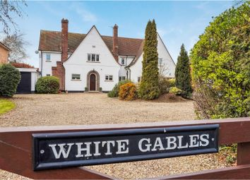 Thumbnail 5 bed detached house for sale in Manthorpe Road, Grantham