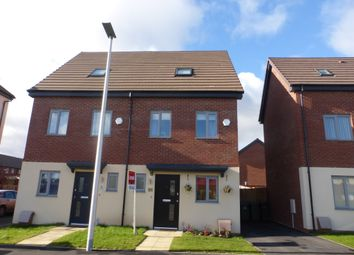 Thumbnail 3 bed semi-detached house for sale in Thursfield Road, Tipton