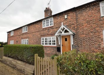 Thumbnail 2 bed cottage for sale in Worthenbury Road, Crewe By Farndon, Chester