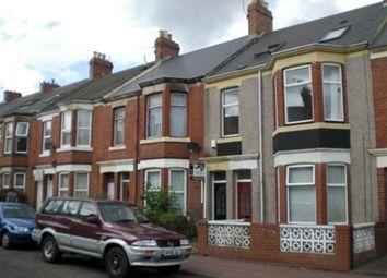 Thumbnail 5 bed maisonette to rent in Simonside Terrace, Heaton, Newcastle Upon Tyne