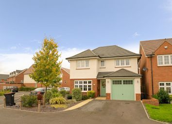 Thumbnail 4 bed detached house for sale in Miller Meadow, Leegomery, Telford