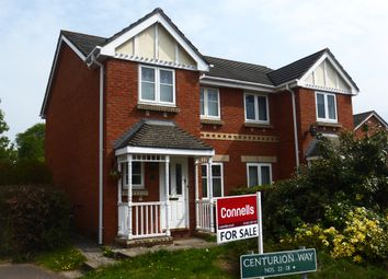 Thumbnail 3 bedroom semi-detached house for sale in Centurion Way, Credenhill, Hereford