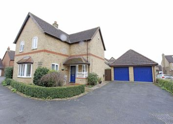 Thumbnail 4 bedroom detached house for sale in Templeman Drive, Carlby, Stamford