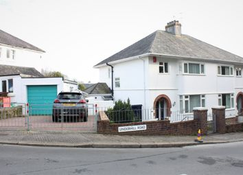 Thumbnail 3 bed semi-detached house for sale in Underhill Road, Stoke, Plymouth