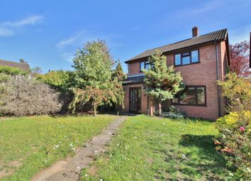 Thumbnail 3 bed detached house for sale in Huntingfield Close, New Costessey, Norwich